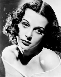 Die Erfinderin und Schauspielerin Hedy Lamarr
