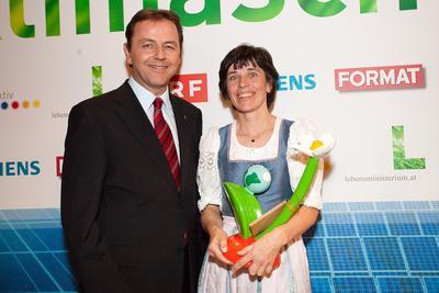 Österreichischer Klimaschutzpreis 2009 verliehen, Quelle: lebensministerium.at, Foto: BMLFUW/APA