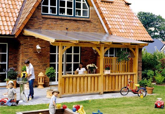 Terrassenüberdachungen aus Holz selber bauen – Land der Erfinder ...